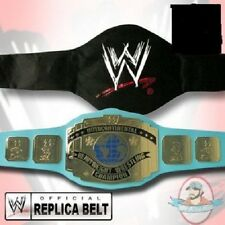 WWF Classic Intercontinental Adult Size Replica Belt with Blue Strap