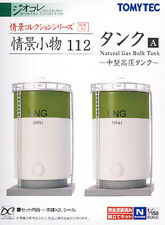 TOMIX N Scale 1/150 TOMYTEC The Diorama Collection 112 : Natural Gas Bulk Tank A