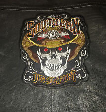 Southern Head of the Dead patch backpatch écusson Biker Blouson Chopper MC skull