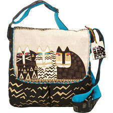 Laurel Burch Wild Cats Crossbody - Multi Cross-Body Bag NEW