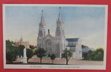 VTG POSTCARD-THE NEW CHURCH-LA NOUVELLE EGLISE STE-ANNE DE BEAUPRE