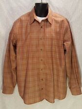 MINT Eddie Bauer Classic Fit Wrinkle & Stain Resistant Dress Shirt Plaid Tall L