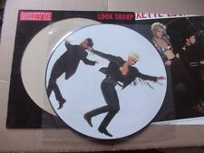 ROXETTE,LOOK SHARP-THE SECOND LOOK picture-lp m-/vg Beiblatt /m- Emi-Svenska ´88