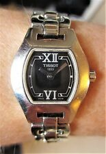 Ladies SS Tissot 1853 Quartz 30m Bracelet Sapphire Crystal Watch Working Well