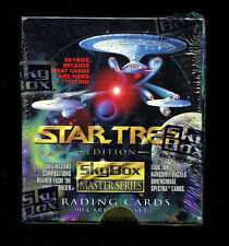 Star Trek Master Series 1 Trading Card Box New Factory Sealed 1993