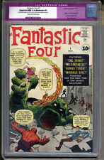 Fantastic Four #1 CGC 9.4 NM Apparent CGC #0100055002 RESTORED