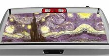 Truck Rear Window Decal Graphic [Starry Night, Van Gogh] 20x65in DC15904