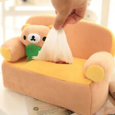 Cute San-X Rilakkuma on Sofa Plush Car Tissue Box Cover Holder Paper Box