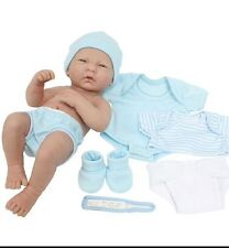 "BERENGUER LA Newborn  Baby BOY DOLL 14"" 4 Reborn real life play, life like"
