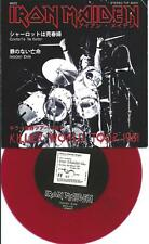 IRON MAIDEN charlotte the harlot (red vinyl with PS) live killer tour EX/EX 7""