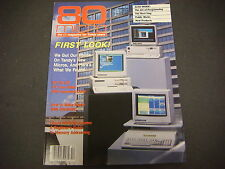 80 Micro Magazine For Tandy Users,December 1986,First Look,Micros,Bit,GW-Basic