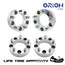 "4pcs 2"" Wheel Spacers Adapters 5x5.5"" to 5x5.5"" 1/2""x20 108mm for Dodge Ram 1500"