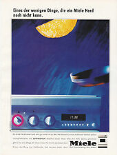 MIELE HERD ANNONCE PUBLICITAIRE1992 GERMANY ADVERT - COUPURE MAGAZINE