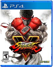 Street Fighter V - PlayStation 4 PS4 BRAND NEW SEALED!!