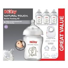 Nuby Natural Touch Bottle Feeding Kit Starter Set