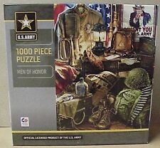 "1000 pc Jigsaw Puzzle ""Men of Honor"" official U S Army product Master Pieces Puz"