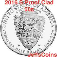 2016 S 100th Anniversary of the National Park Service 50¢ Half Dollar Proof 16Ce
