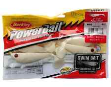 "Berkley Powerbait 3"" 8cm PULSE SHAD Soft Plastic Fishing Lures MILKY Cod Lures"