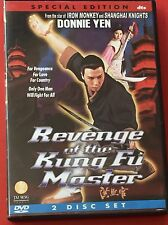 Revenge of The Kung Fu Master DVD Special Ed 2 Disc Set Martial Arts Donnie Yen