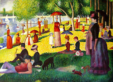 "Georges Seurat Replica Oil Painting - A Sunday On La Grande Jatte 48""x36"""
