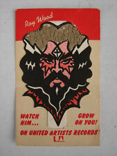 "RARE ROY WOOD UA 1973 US PROMO ITEM ""WATCH HIM GROW ON YOU"" THE MOVE WIZZARD ELO"