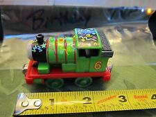 Thomas & Friends Take N Play Metal Diecast Percy Green Engine Train #6 Birthday