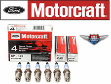 Brand New set of 6 Motorcraft SP400 Spark Plugs AGSF22N