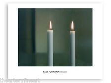 "GERHARD RICHTER 'Two Candles (Zwei Kerzen)', 1982 Art Exhib Poster 24"" x 30"" NEW"