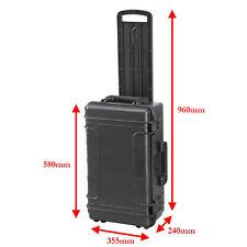 Mobile GRANDE 30 LITRI IMPERMEABILE ip67 valutato Custodia rigida protettiva fotocamera con schiuma