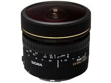 SIGMA 8mm 1:3.5 EX DG FISHEYE LENS for CANON - 8 mm - f/3.5 FISH EYE