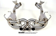 Kline Innovation Stainless Steel Exhaust System fits Ferrari 458 Italia inc CATS