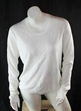 AUTH $375 Burberry London Women White Sweater XL