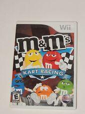 M&M's Kart Racing (Nintendo Wii, 2007)  COMPLETE