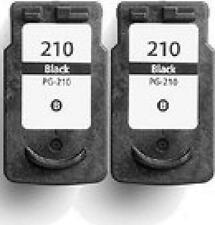 2 Pack PG-210 Black Ink For Canon PIXMA Printer MP240 MP250 MP280 FREE SHIPPING