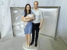 Royal Doulton The Royal Baby Prince George with Prince William and Kate HN5716