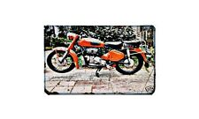 Awo Simson 425S Motorbike Sign Metal Retro Aged Aluminium Bike