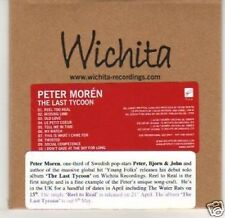 (J402) Peter Moren, The Last Tycoon - DJ CD