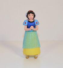 """2.75"""" Snow White w/ Blue Cloth Apron PVC Action Figure Disney Snow White"""