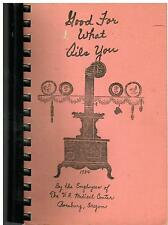 *ROSEBURG OR 1984 *VA MEDICAL CENTER EMPLOYEES COOK BOOK *GOOD FOR WHAT AILS YOU