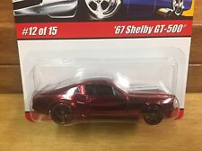 Hot Wheels 2008 Modern Classics '67 Shelby GT500 Red