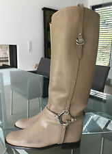 GUCCI * Stiefel * taupe  * Gr. 39