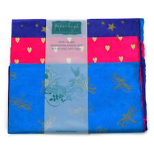 Fair Trade Lokta Paper Three Sheet Gift Wrap Pack GWP3