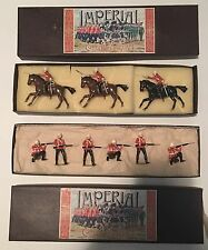 New Zealand Imperial 9 Metal Figures: Zulu 1879: 1st Dragoon Guards & 24th Foot