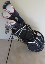 Men's Callaway Complete Golf Set Driver, 3 Wood, Hybrid, Irons Putter Stand Bag