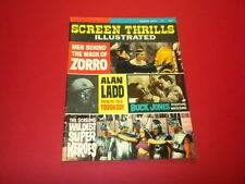 SCREEN THRILLS ILLUSTRATED #9 Warren magazine 1964 vintage MOVIES FILMS