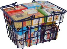 Toy Shopping Basket Kids Shopping Role Play Toy With Pretend Play Food Groceries
