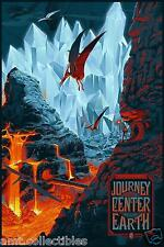 Laurent Durieux VARIANT - JOURNEY TO THE CENTER OF THE EARTH - Nautilus mondo