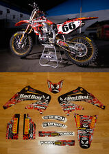 2002-2008 HONDA CR 125 250 Bad Boy Motocross Graphics  Decal By ENJOY MFG NICE
