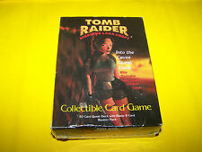 TOMB RAIDER COLLECTABLE CARD GAME  INTO THE CAVES QUEST DECK  EXCLUSIVE CARD