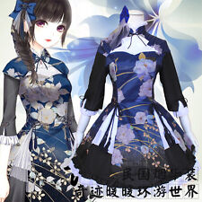 Cosplay Game Costume lolita Chinese Tradition Hanfu Dresses